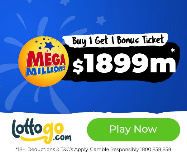Mega Millions Buy 1 Ticket Get 1 Bonus Ticket