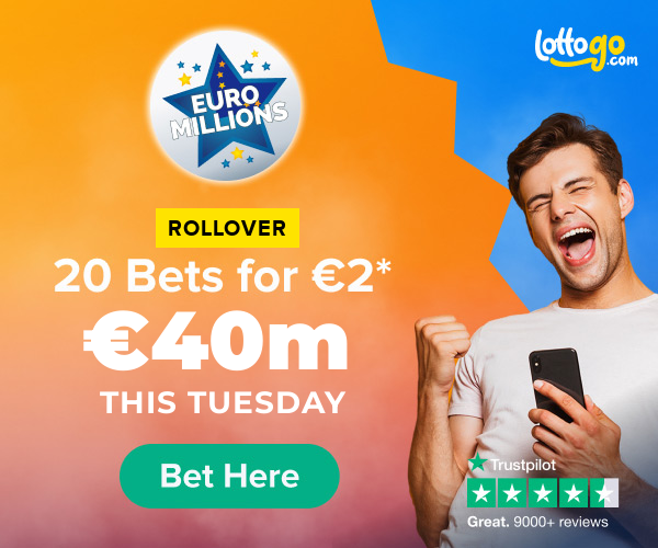 LottoGo EuroMillions bets