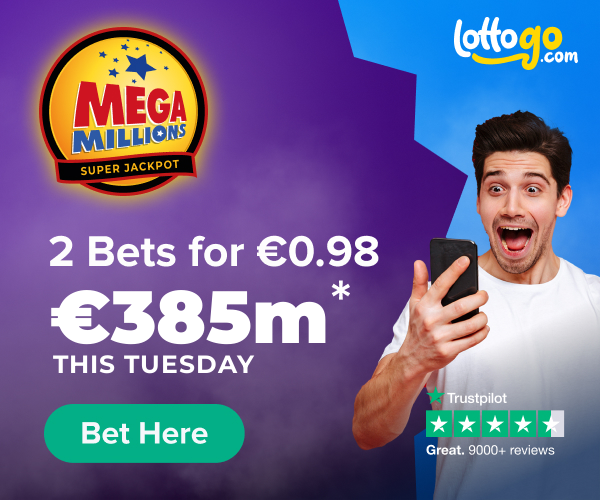 MegaMillions 2 Bets For 0.98c