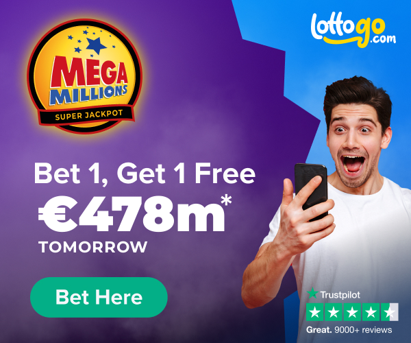 MegaMillions Bet 1 Get 1 Free