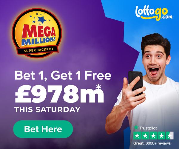 Mega Millions Bet 1 Get 1 Free