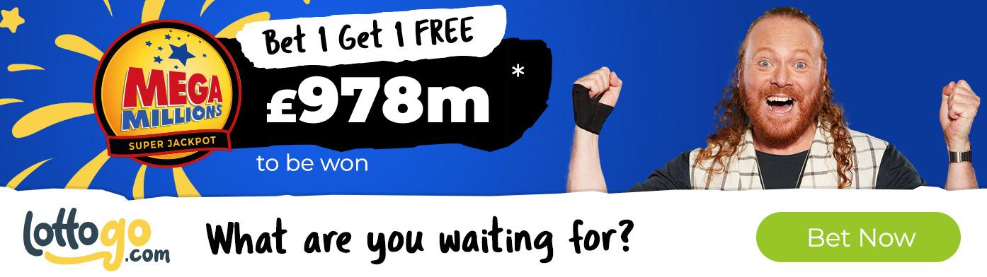 US Mega Millions Bet 1 Get 2 Free