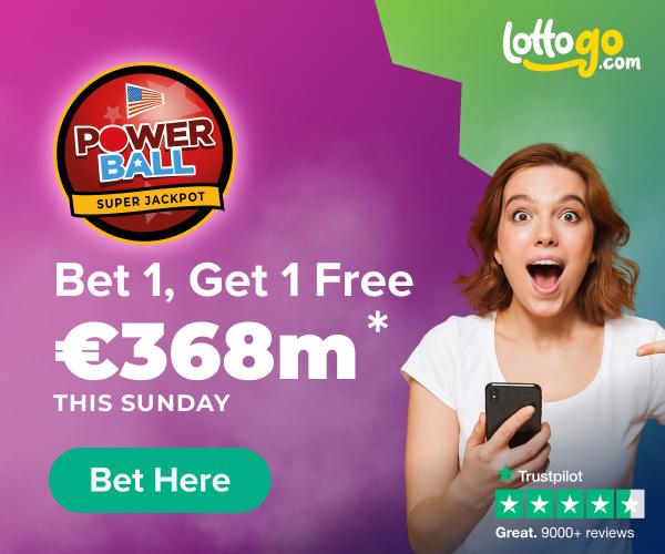Powerball Bet 1 Get 1 Free